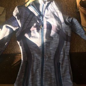 Size 2 lululemon purple zip up
